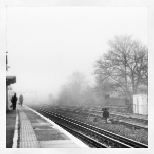 FoggyTrainStation